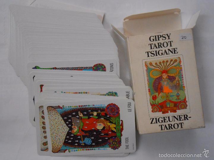 Barajas de cartas: BARAJA DE CARTAS GIPSY TAROT TSIGANE ZIGEUNER TAROT SWITZERLAND 1982. TDKC37 - Foto 2 - 57579125