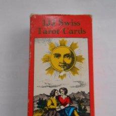 Barajas de cartas: SWISS TAROT CARDS / AGMULLER - U.S. GAMES SYSTEMS. TDKC37. Lote 57579610