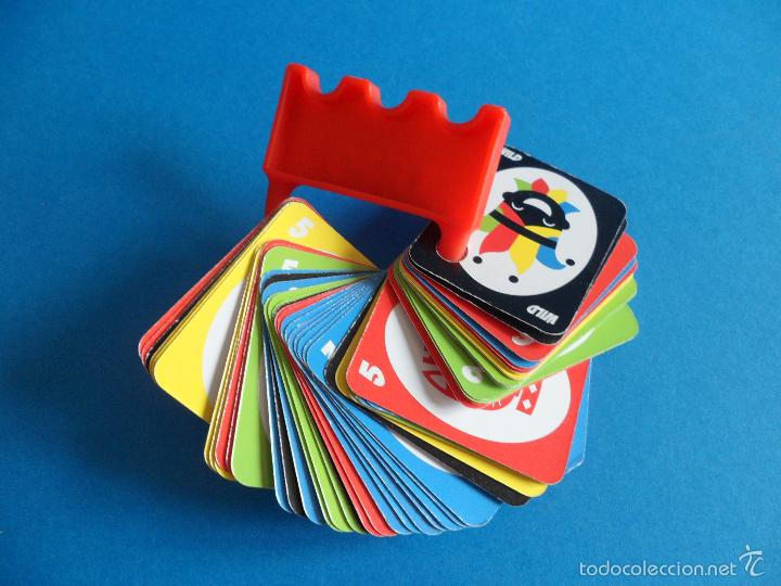 JUEGO DE CARTAS UNO BURGER KING - 2015 MATTEL - JUEGO COMPLETO (Juguetes y Juegos - Cartas y Naipes - Barajas Infantiles)