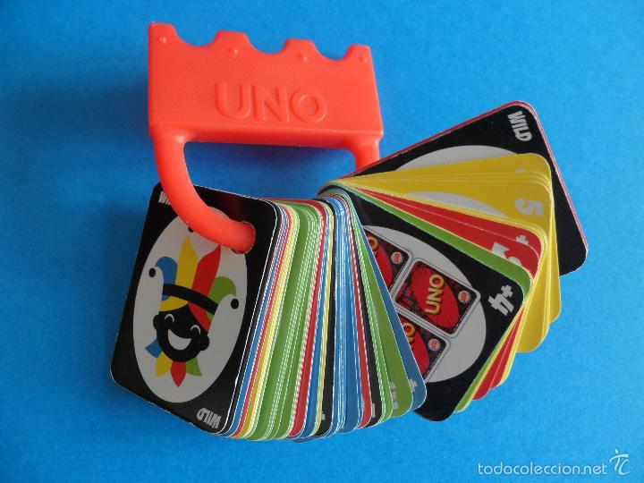 Barajas de cartas: Juego de cartas UNO Burger King - 2015 Mattel - Juego completo - Foto 3 - 57581744