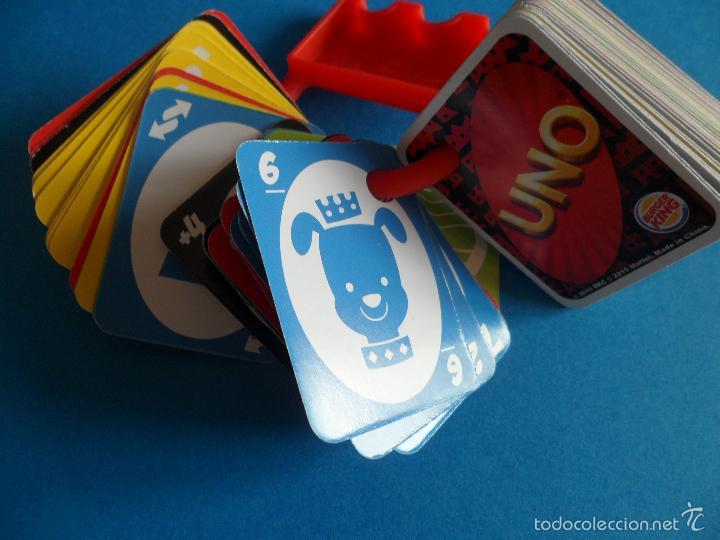 Barajas de cartas: Juego de cartas UNO Burger King - 2015 Mattel - Juego completo - Foto 8 - 57581744
