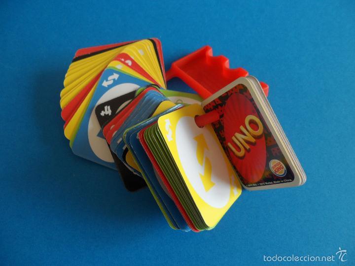 Barajas de cartas: Juego de cartas UNO Burger King - 2015 Mattel - Juego completo - Foto 9 - 57581744