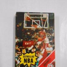 Barajas de cartas: BARAJA DE CARTAS. JUEGO INFANTIL. ESTRELLAS DE LA NBA. HERACLIO FOURNIER. 33 CARTAS. TDKC37. Lote 100197410