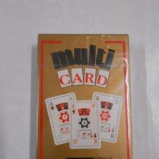 Barajas de cartas: MULTI CARD HERACLIO FOURNIER. BARAJA DE MULTIPLES APLICACIONES. NAIPES. 50 CARTAS. NUEVO. TDKC37. Lote 57592380