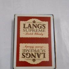 Barajas de cartas: BARAJA DE CARTAS LANGS SUPREME. NAIPES HERACLIO FOURNIER 54 CARTAS. TDKC37. Lote 57603462