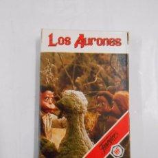 Barajas de cartas: BARAJA DE CARTAS LOS AURONES. NAIPES HERACLIO FOURNIER. JUEGO INFANTIL. 33 CARTAS. TDKC37. Lote 57603521