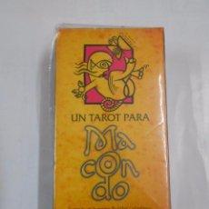 Barajas de cartas: UN TAROT PARA MACONDO. THE MACONDO TAROT. NAIPES HERACLIO FOURNIER. NUEVO. TDKC37. Lote 57603792