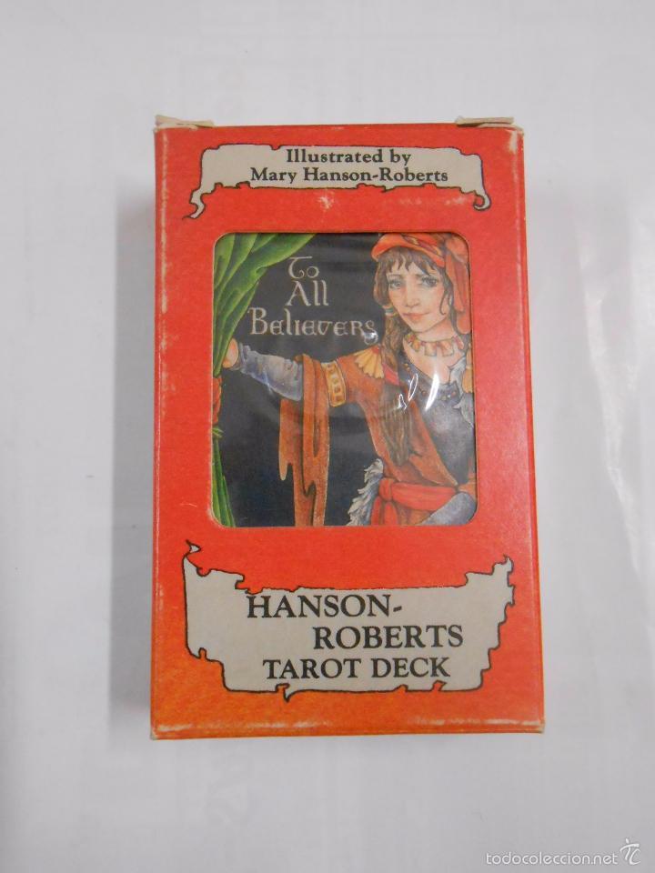HANSON - ROBERTS TAROT DESK. NINE OF RODS. NUEVE DE BASTOS. HERACLIO FOURNIER. NUEVO. TDKC37 (Juguetes y Juegos - Cartas y Naipes - Barajas Tarot)