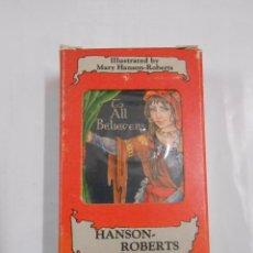 Barajas de cartas: HANSON - ROBERTS TAROT DESK. NINE OF RODS. NUEVE DE BASTOS. HERACLIO FOURNIER. NUEVO. TDKC37. Lote 57604095