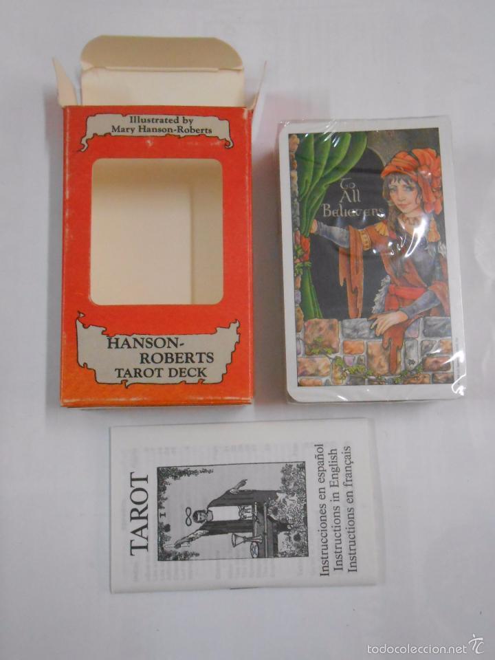 Barajas de cartas: HANSON - ROBERTS TAROT DESK. NINE OF RODS. NUEVE DE BASTOS. HERACLIO FOURNIER. NUEVO. TDKC37 - Foto 2 - 57604095