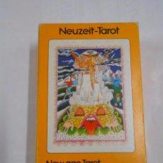 Barajas de cartas: NEW AGE TAROT. TAROT DU NOUVEL AGE.- NEUZEIT TAROT. WALTER WEGMULLER HERACLIO FOURNIER. NUEVO TDKC37. Lote 57604239