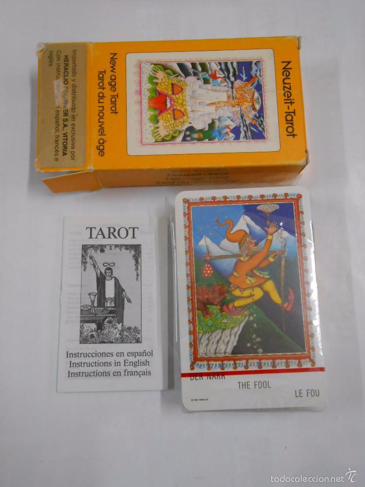 Barajas de cartas: New age tarot. Tarot du nouvel age.- Neuzeit Tarot. Walter Wegmuller HERACLIO FOURNIER. NUEVO TDKC37 - Foto 2 - 57604239