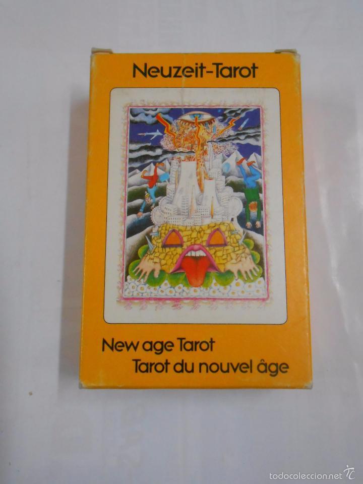Barajas de cartas: New age tarot. Tarot du nouvel age.- Neuzeit Tarot. Walter Wegmuller HERACLIO FOURNIER. NUEVO TDKC37 - Foto 3 - 57604239