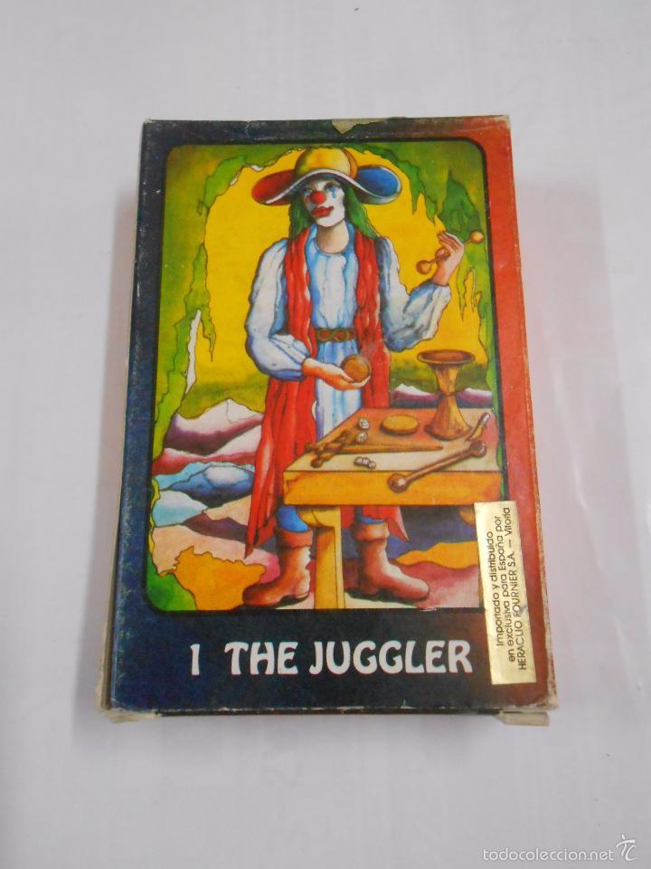 KARMA TAROT BY BIRGIT BOLINE ERFURT. THE JUGGLER. US GAMES SYSTEMS. NUEVO. TDKC37 (Juguetes y Juegos - Cartas y Naipes - Barajas Tarot)
