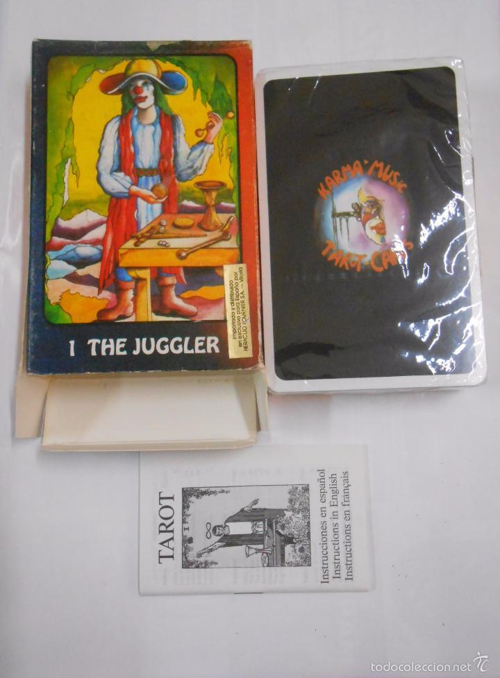 Barajas de cartas: KARMA TAROT BY BIRGIT BOLINE ERFURT. THE JUGGLER. US GAMES SYSTEMS. NUEVO. TDKC37 - Foto 2 - 57605099
