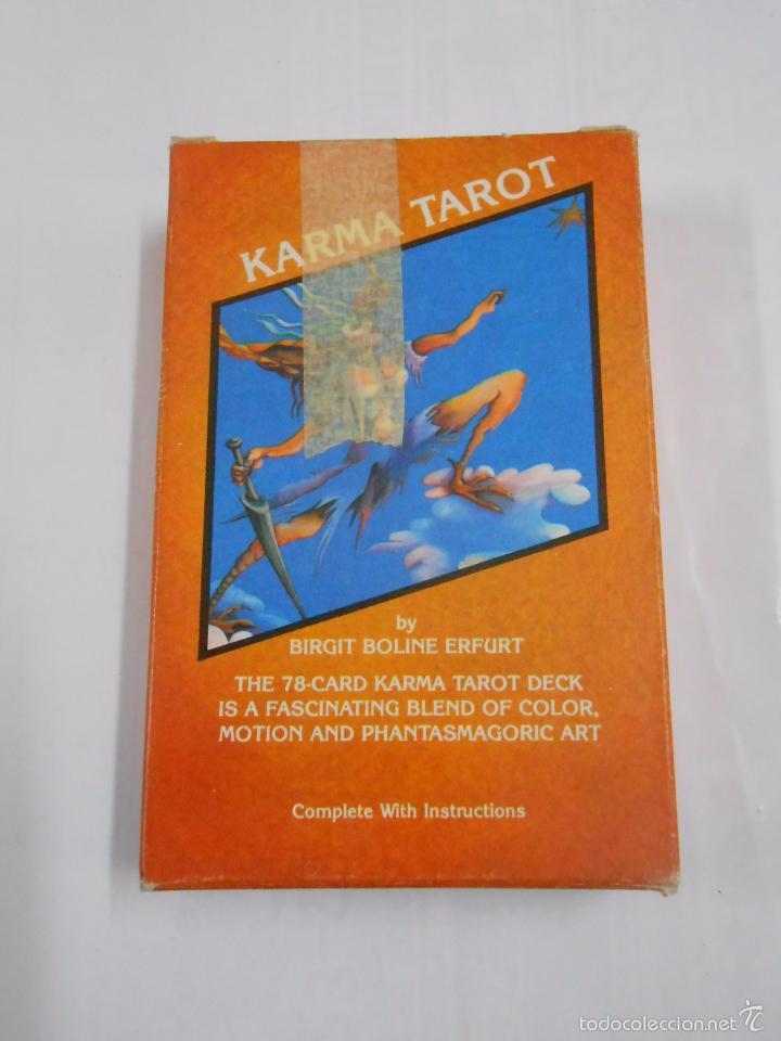 Barajas de cartas: KARMA TAROT BY BIRGIT BOLINE ERFURT. THE JUGGLER. US GAMES SYSTEMS. NUEVO. TDKC37 - Foto 3 - 57605099