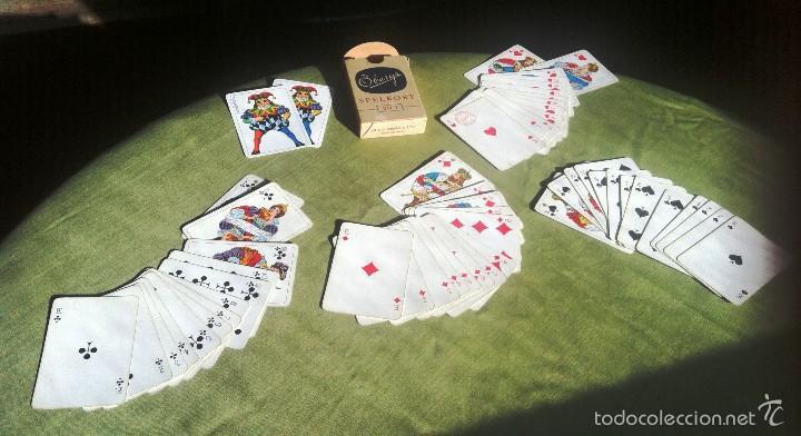 BARAJA SUECA - ÖBERG & SON -( + 50 AÑOS ) (Juguetes y Juegos - Cartas y Naipes - Otras Barajas)