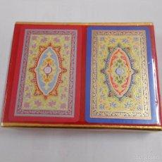 Barajas de cartas: BARAJA DE CARTAS CONGRESS. PLAYING CARDS. NUEVO. 2 BARAJAS PRECINTADAS. TDKC37. Lote 57607175