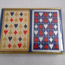 Barajas de cartas: BARAJA DE CARTAS CONGRESS. PLAYING CARDS. NUEVO. 2 BARAJAS PRECINTADAS. TDKC37. Lote 57607190