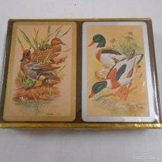 Barajas de cartas: BARAJA DE CARTAS CONGRESS. PLAYING CARDS. NUEVO. 2 BARAJAS PRECINTADAS. PATOS. TDKC37. Lote 57607250