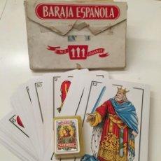 Jeux de cartes: BARAJA ESPAÑOLA FOURNIER GIGANTE. Lote 161730726