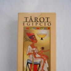 Barajas de cartas: TAROT EGIPCIO. LO SCARABEO. ORBIS FABBRI. RBA. TDKC37. Lote 57618430
