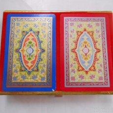 Barajas de cartas: BARAJA DE CARTAS CONGRESS. PLAYING CARDS. 2 BARAJAS. MOTIVOS CLASICOS. TDKC37. Lote 57618450