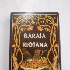 Barajas de cartas: BARAJA RIOJANA. CAJA DE AHORROS DE ZARAGOZA, ARAGON Y RIOJA. NUEVA. TDKC37. Lote 57618832