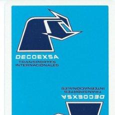 Barajas de cartas: BARAJA ESPAÑOLA PUBLICITARIA DECOEXA-FOURNIER-AÑOS 90. Lote 57678178