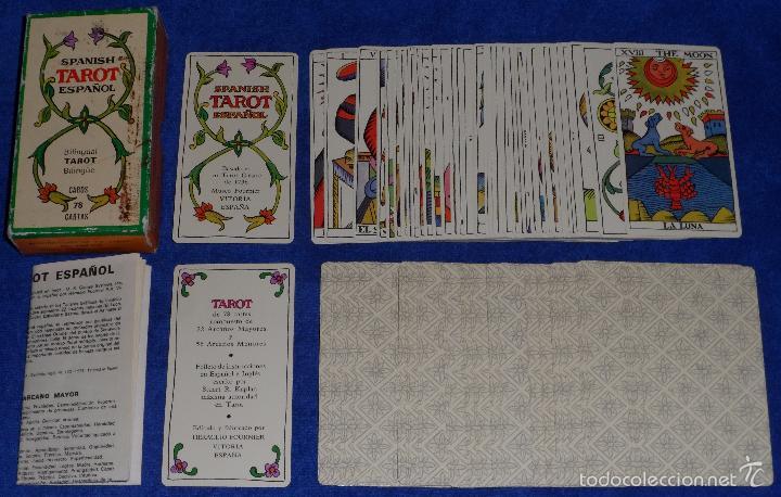 TAROT - FOURNIER (1978) (Juguetes y Juegos - Cartas y Naipes - Barajas Tarot)