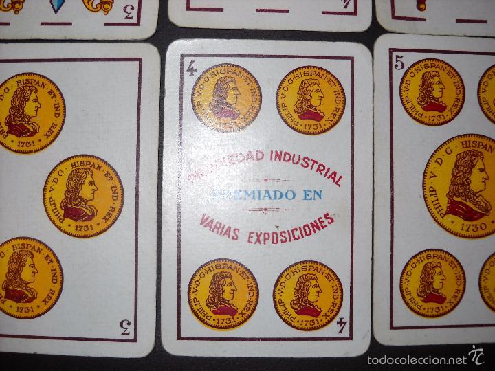 Barajas de cartas: BARAJA NAIPES HIJA DE B. FOURNIER BURGOS, COMPLETA 40 NAIPES.RARAS. - Foto 9 - 57692114