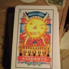 Barajas de cartas: BARAJA ALICANTE HOGUERAS DE SAN JUAN INCOMPLETA 40 CARTAS. Lote 57819719