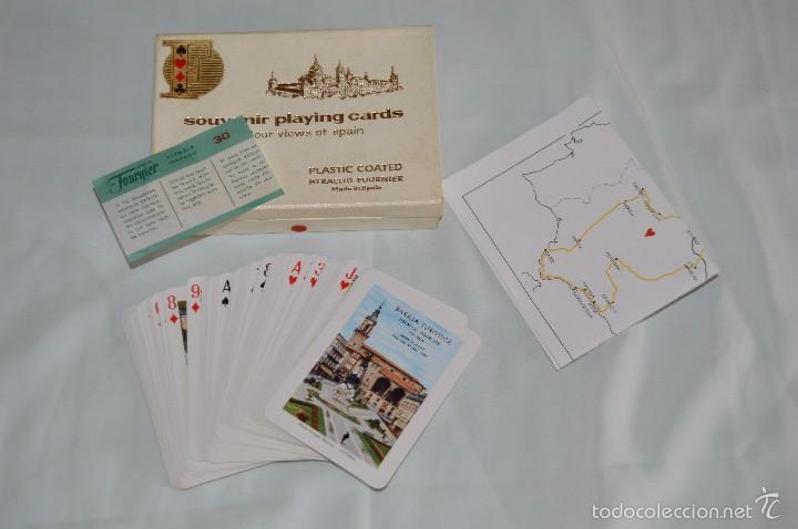 HERÁCLIO FOURNIER - ANTIGUA BARAJA DE POKER - SOUVENIR PLAYING CARDS - EN SU CAJA ORIGINAL (Juguetes y Juegos - Cartas y Naipes - Otras Barajas)