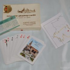 Barajas de cartas: HERÁCLIO FOURNIER - ANTIGUA BARAJA DE POKER - SOUVENIR PLAYING CARDS - EN SU CAJA ORIGINAL. Lote 57868663