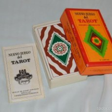 Barajas de cartas: HERÁCLIO FOURNIER - ANTIGUA BARAJA DE TAROT - NUEVO JUEGO DEL TAROT - EN SU CAJA ORIGINAL. Lote 87048411
