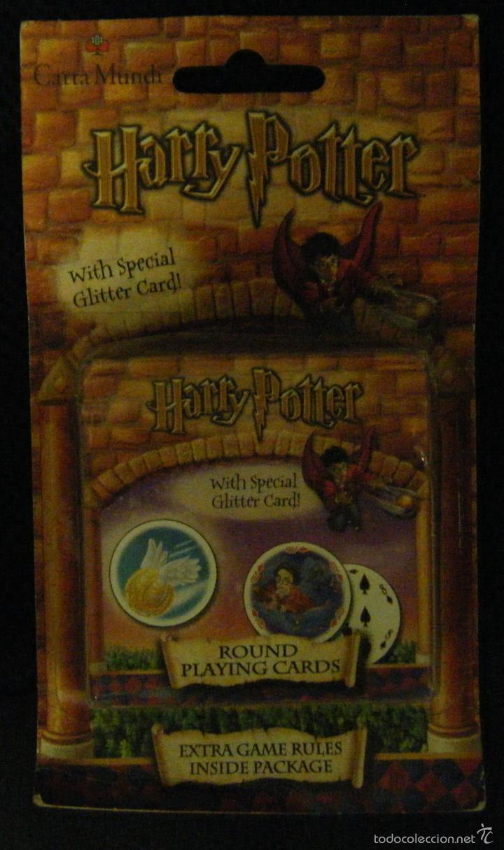 Baraja Juego De Harry Potter 52 Cartas Redond Comprar Otras