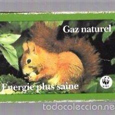 Barajas de cartas: BARAJA DE CARTAS PUBLICITARIA. GAZ NATUREL. ENERGIE PLUS SAINE. . Lote 57988686