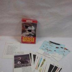 Barajas de cartas: BARAJA DE CARTAS GUIA DE RAPACES IBÉRICAS - POR J.L. RODRÍGUEZ - NATURA - COMPLETA . Lote 57994446