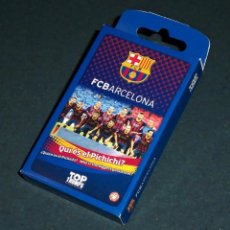Barajas de cartas: BARAJA DE CARTAS FÚTBOL CLUB BARCELONA. Lote 58070924