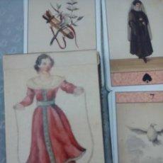 Barajas de cartas: TAROT EL ORACULO ROMANTICO. Lote 58088393