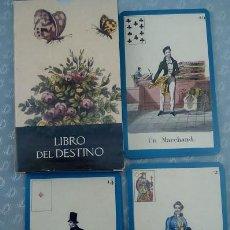Barajas de cartas: TAROT EL LIBRO DEL DESTINO. Lote 58090716