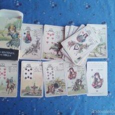 Barajas de cartas: TAROT ORACULO LA SENTENCIA DE LA SIBILA DE LO SCARABEO. Lote 58120649