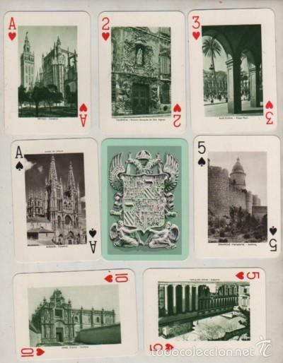 Barajas de cartas: muy interesante baraja - variedad - fournier sa - monumentos de españa - j. manuel pita - Foto 2 - 58131423