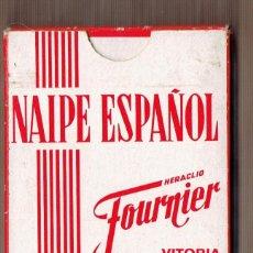 Barajas de cartas: BARAJA NAIPE ESPAÑOL - PUBLICIDAD CYDESA - HERACLIO FOUNIER - 50 CARTAS. Lote 58190480