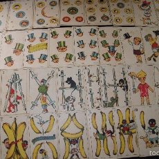 Barajas de cartas: BARAJA INFANTIL ORIGINAL J. PEREZ DEL MURO COMPLETA 40 1938 FABRICA CHOCOLATES VDA. RAUSELL VALENCIA. Lote 58214341