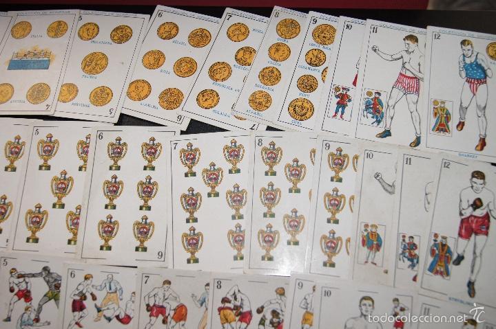 Barajas de cartas: BARAJA COLECCION MONEDAS COMPLETA 48 CARTAS PUBLICIDAD CHOCOLATES AMATLLER 1923 RARA - Foto 5 - 58214642