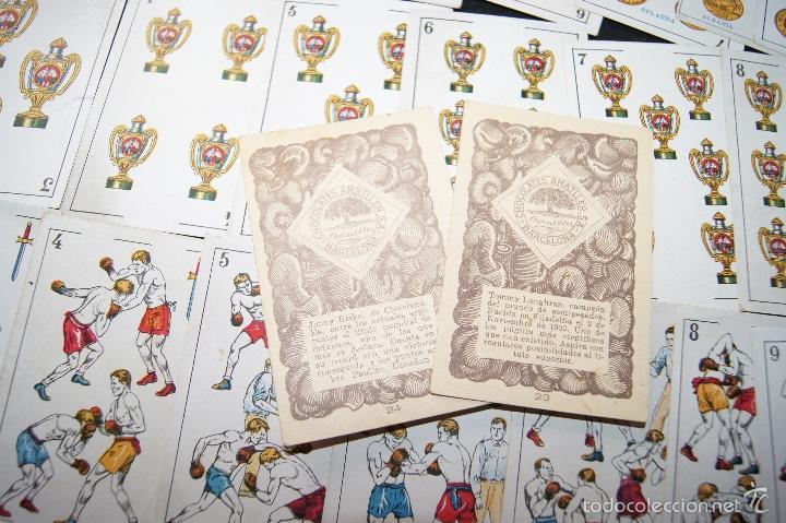 Barajas de cartas: BARAJA COLECCION MONEDAS COMPLETA 48 CARTAS PUBLICIDAD CHOCOLATES AMATLLER 1923 RARA - Foto 8 - 58214642