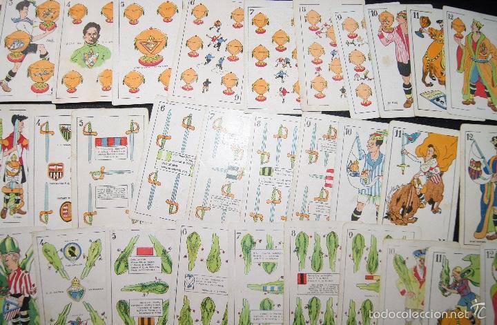 Barajas de cartas: BARAJA DE FUTBOL ZAMORA PUBLICIDAD CHOCOLATES ORTHI TARRAGONA 1920 COMPLETA 48 CARTAS - Foto 5 - 58214784