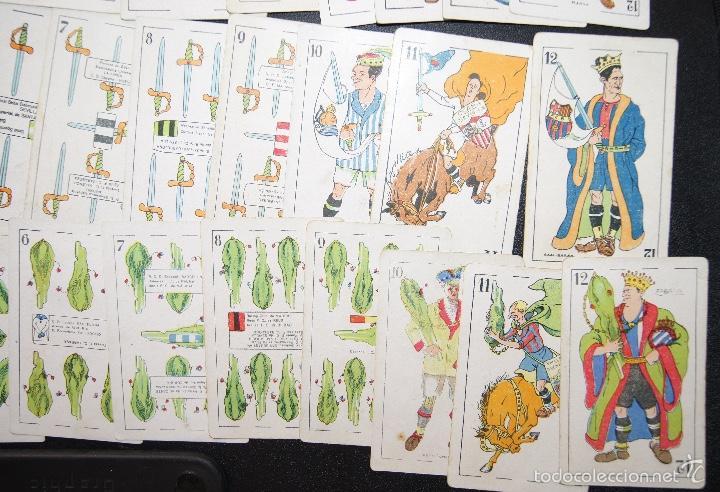 Barajas de cartas: BARAJA DE FUTBOL ZAMORA PUBLICIDAD CHOCOLATES ORTHI TARRAGONA 1920 COMPLETA 48 CARTAS - Foto 7 - 58214784