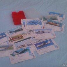 Barajas de cartas: BARAJA DE CARTAS DE AVIONES DE TODOS TIPOS.. Lote 109135130